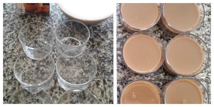 caramel macchiato coffee jello cups