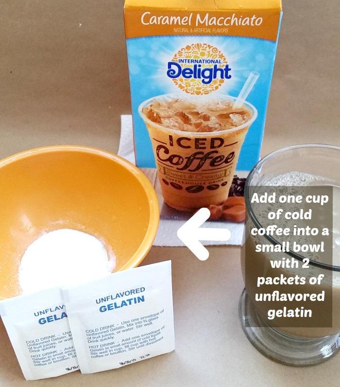 caramel macchiato coffee jello gelatin mix