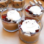 Caramel macchiato coffee jello