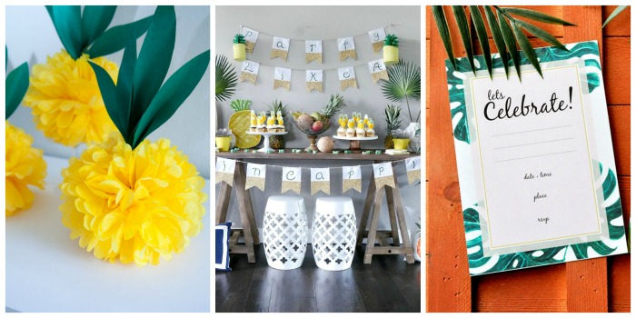 15 Awesome DIY Tropical Ideas - Party Time!