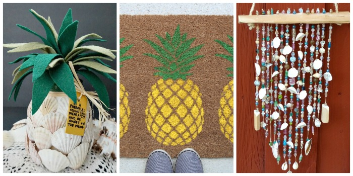 15 Awesome DIY Tropical Ideas - misc. home decor