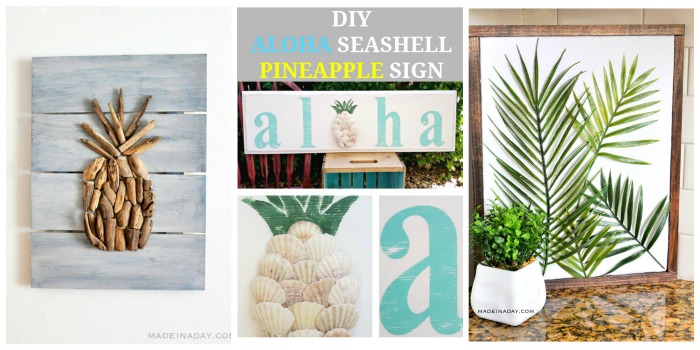 15 Awesome DIY Tropical Ideas or the summer!