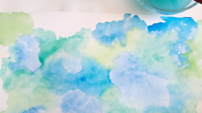 summer sea watercolor background art colors