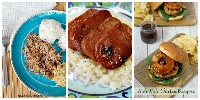Hawaiian Food Week - Dinner Idea Recipes
