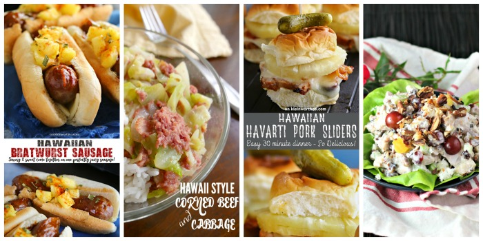 Hawaiian Food Week - Lunch Recipes