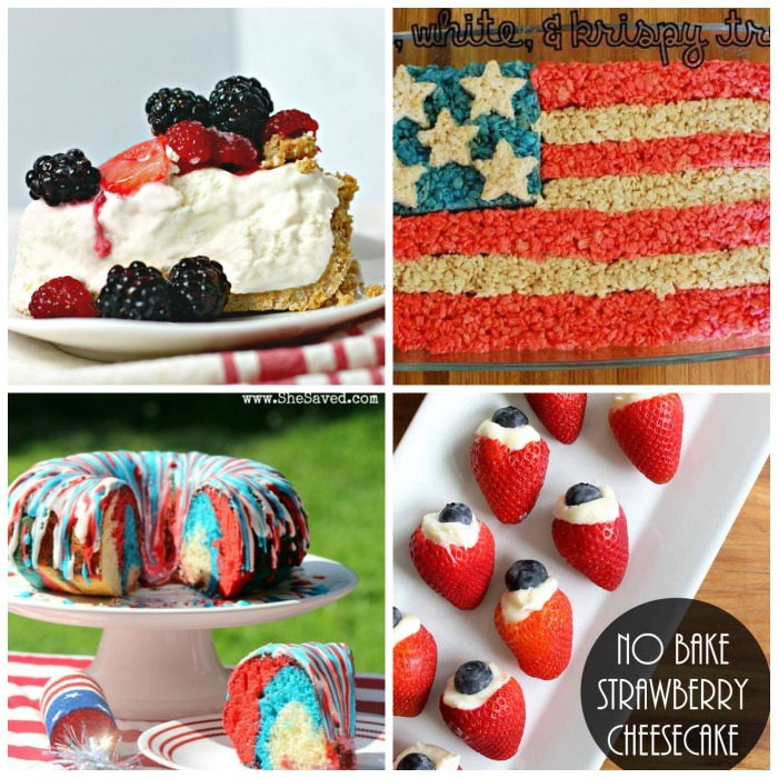 July 4th Party Menu Ideas - Desserts