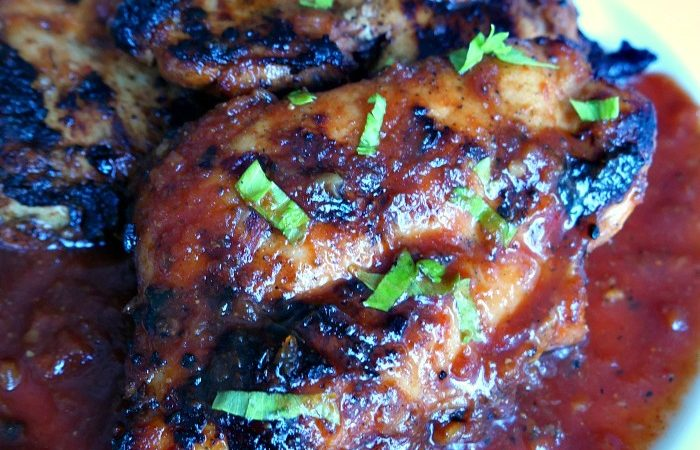 Grilled Pineapple Tomato Chicken Recipe