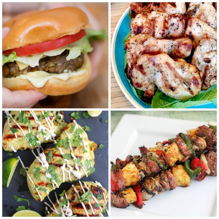 July 4th Party Menu Ideas - mains