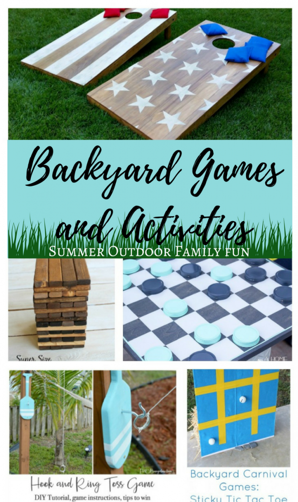 DIY Backyard Games and Activities