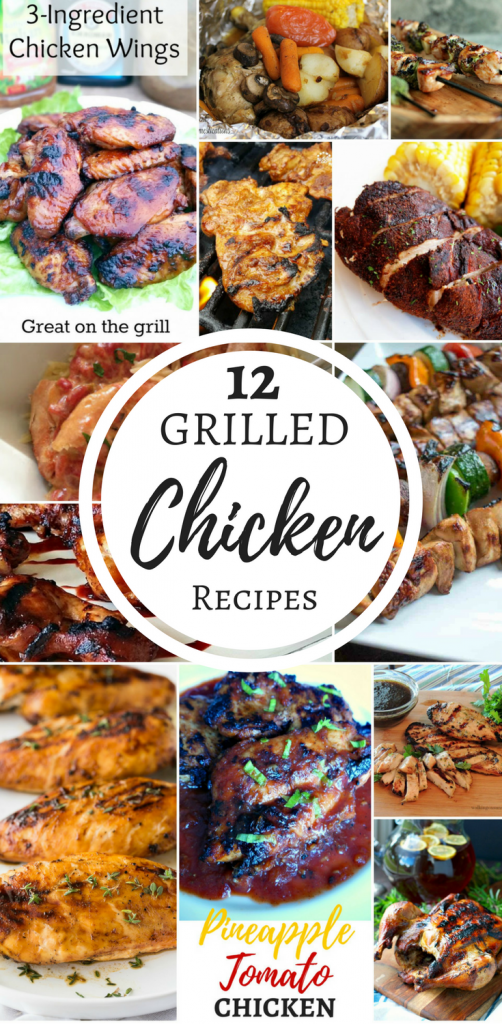 Grilled Chicken Recipes for National Grilling Month