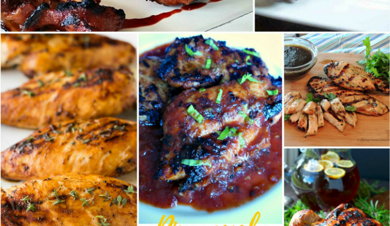 Grilled Chicken Recipes – National Grilling Month