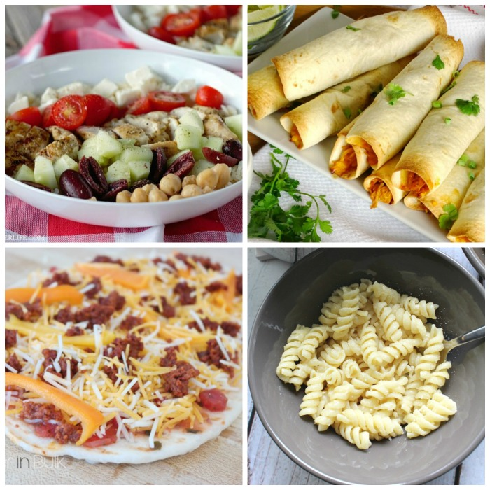 10 Quick and Easy Weeknight Meal Ideas