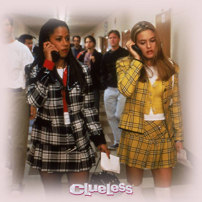 Clueless plaid outfits
