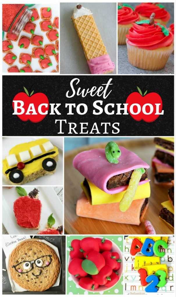 Sweet Back to School Treats