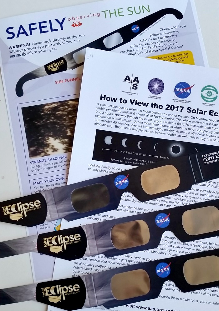 solar eclipse glasses