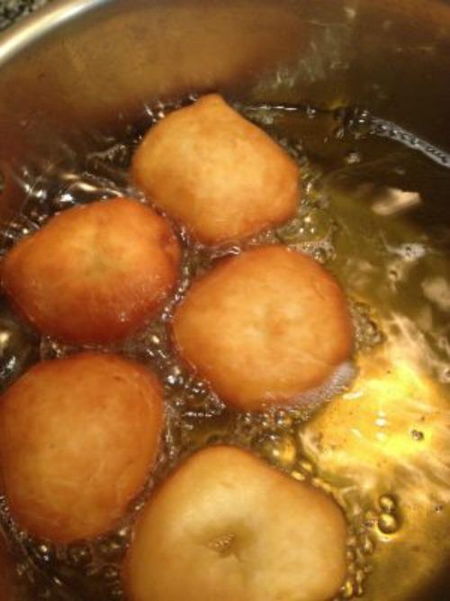 Malasadas Cooking
