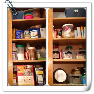 Day 2 Organization: Cabinets