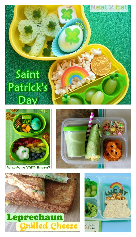 Quick Post Wednesday – St. Patrick's Day Lunch Roundup