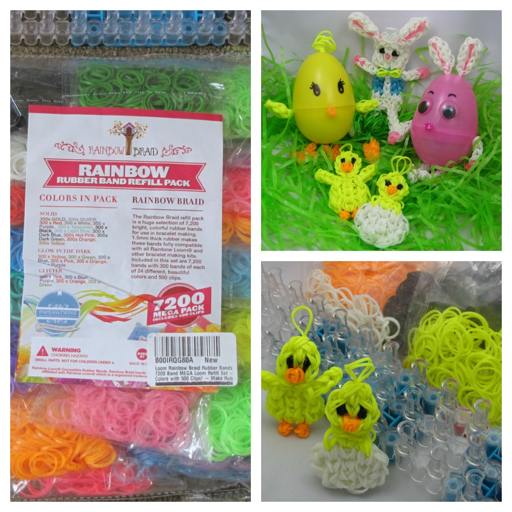 Rainbow Braid Review and Easter Egg Loom Craft