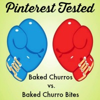 Pinterest Tested: Baked Churros vs Baked Churro Bites