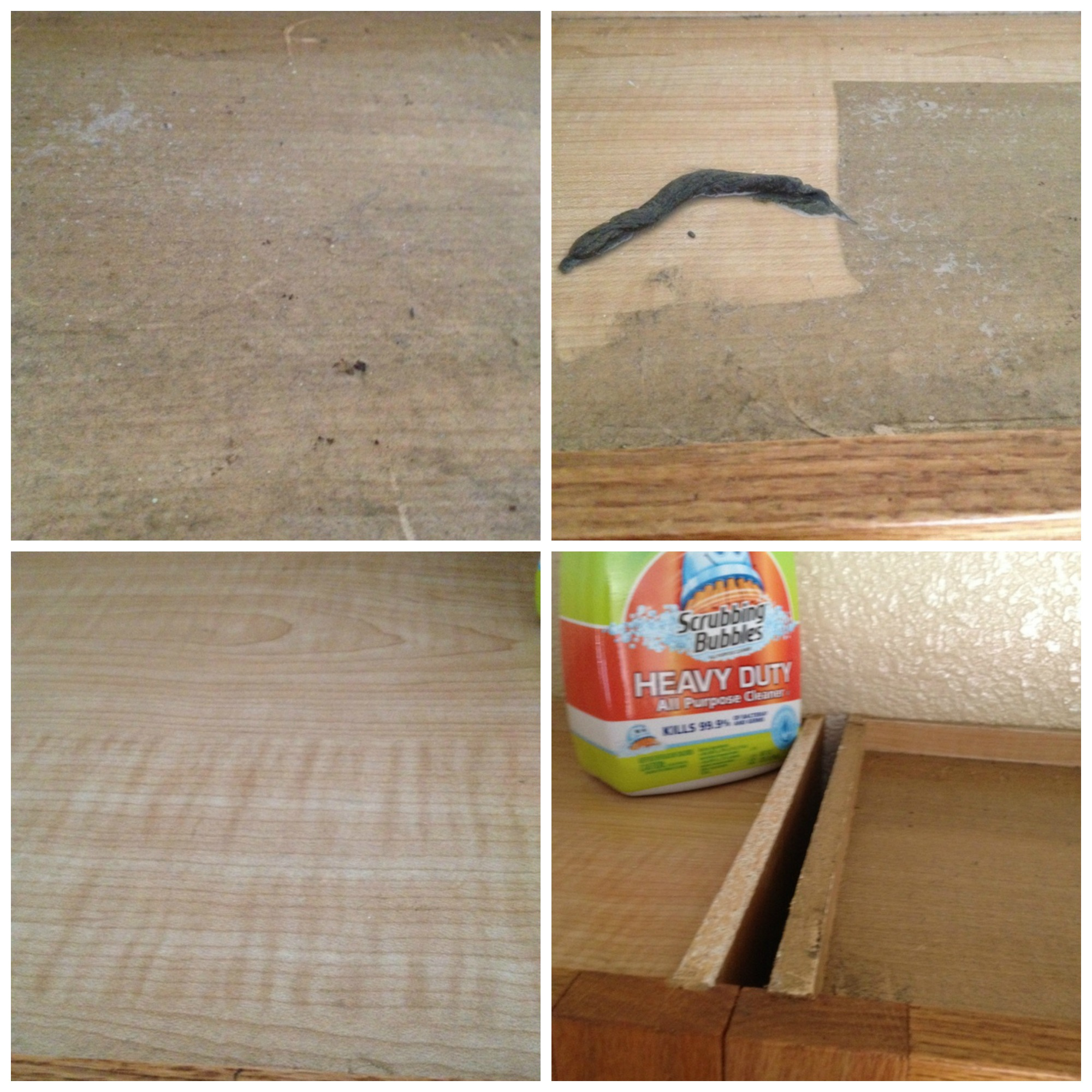 How To Clean Greasy Sticky Kitchen Cabinets
