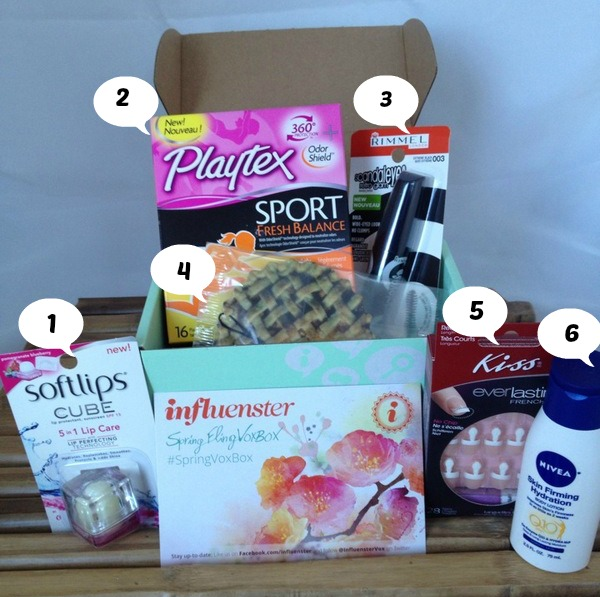 Contents of Spring Fling VoxBox