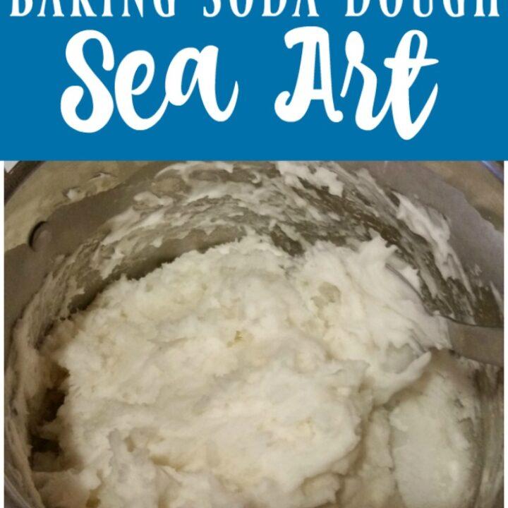 Baking Soda Dough Sea Art Image
