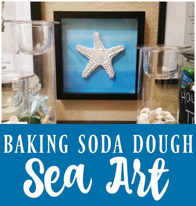 Baking Soda Dough Sea Art