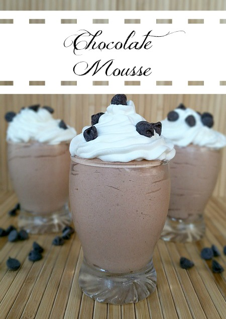 Chocolate Mousse Recipe – Simple Dessert