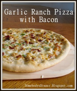 Garlic Ranch Pizza