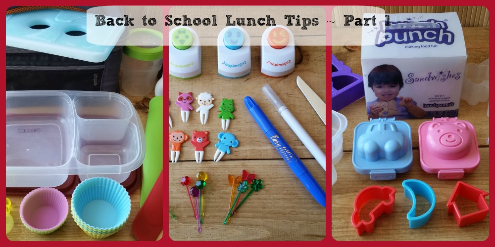 Back to School Lunch Tips – Part 1, Containers & Tools