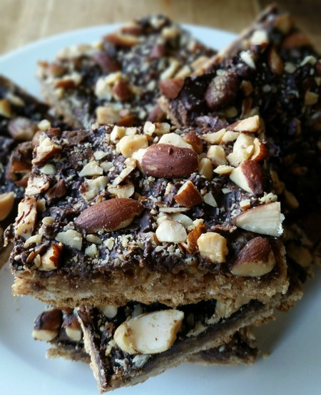 Chocolate and Oats Graham Bars – October Cookie and Dessert Share-fest