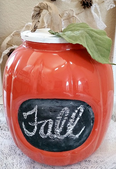 Fall Pumpkin Makeover