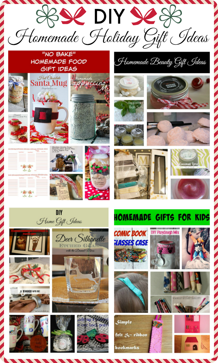 DIY Homemade Holiday Gift Ideas