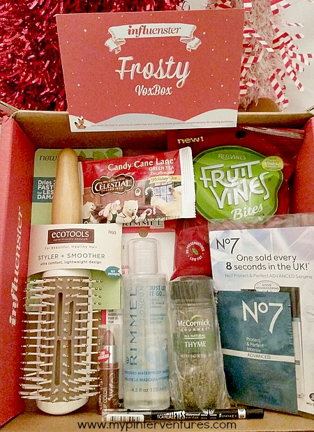 Influenster #FrostyVoxBox Products Review