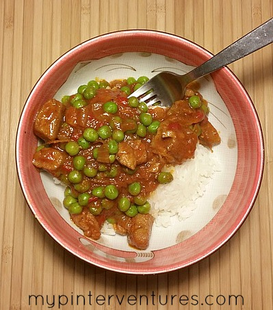 Pork and Peas – Easy One Pan Meal