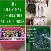 Holiday Decoration Storage Ideas & Tips