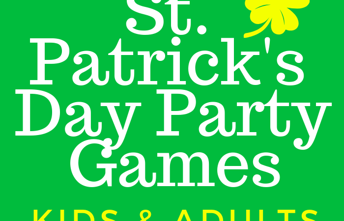 St. Patrick's Day Party Games