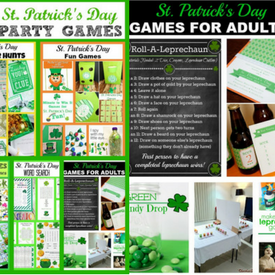St. Patrick's Day Party Games – Kids and Adults