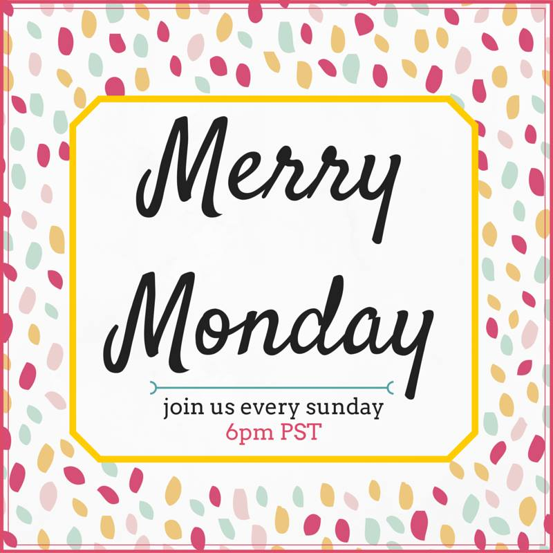Merry Monday Link Party #102 – Giveaway + Instagram Follow!