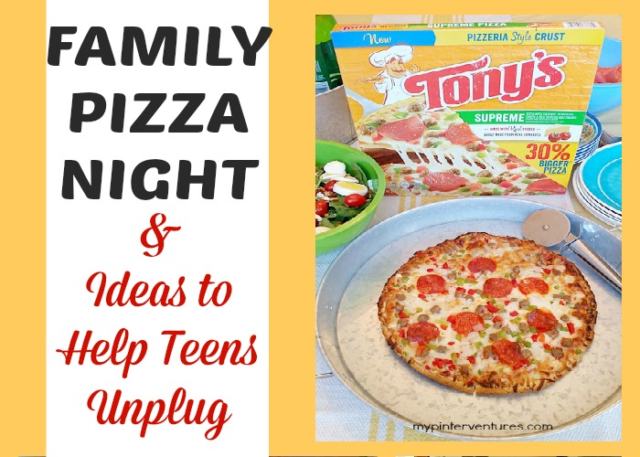 Family pizza night