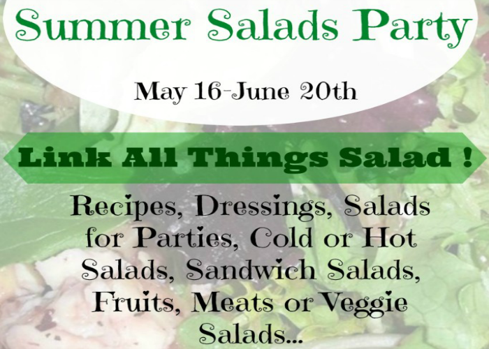 Summer Salads Party Kick-off!