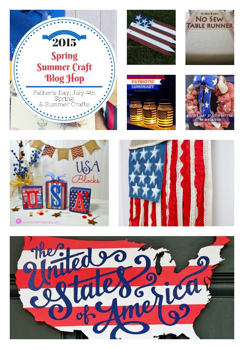 Spring & Summer Craft Blog Hop 4 – Patriotic Highlights