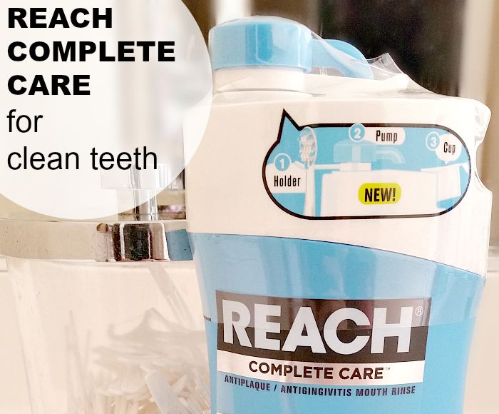 REACH® Complete Care for Clean Teeth