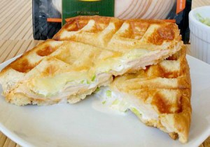 Buffalo Turkey Waffleich Sandwich