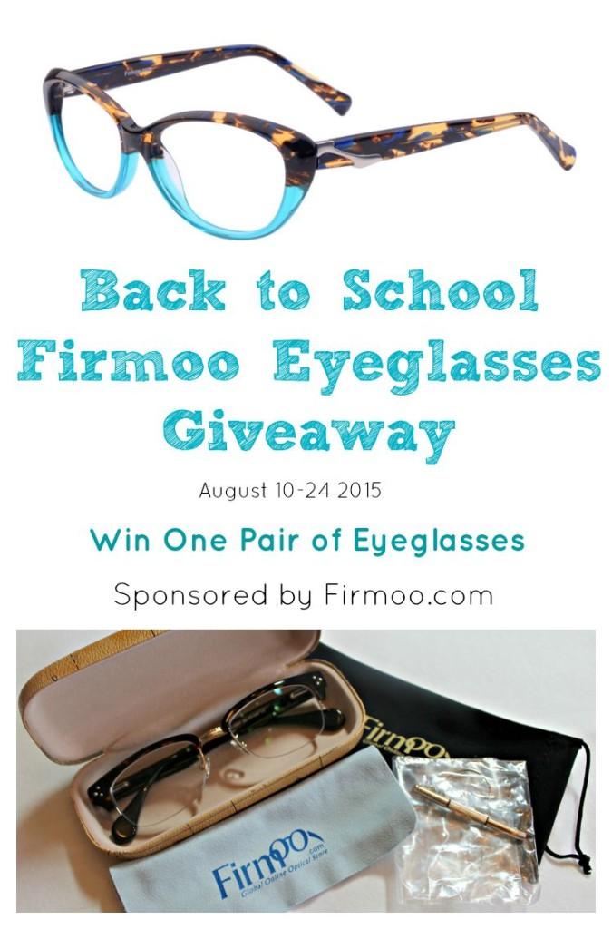 Firmoo Eyeglass Giveaway