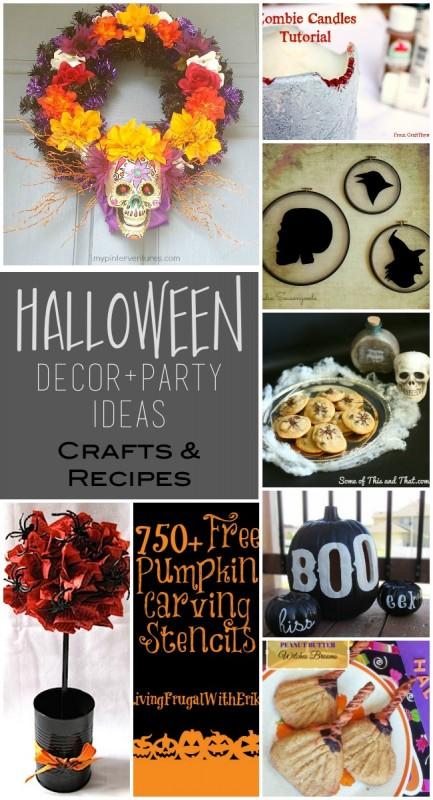 2015 Halloween Spooktacular Link Party Features