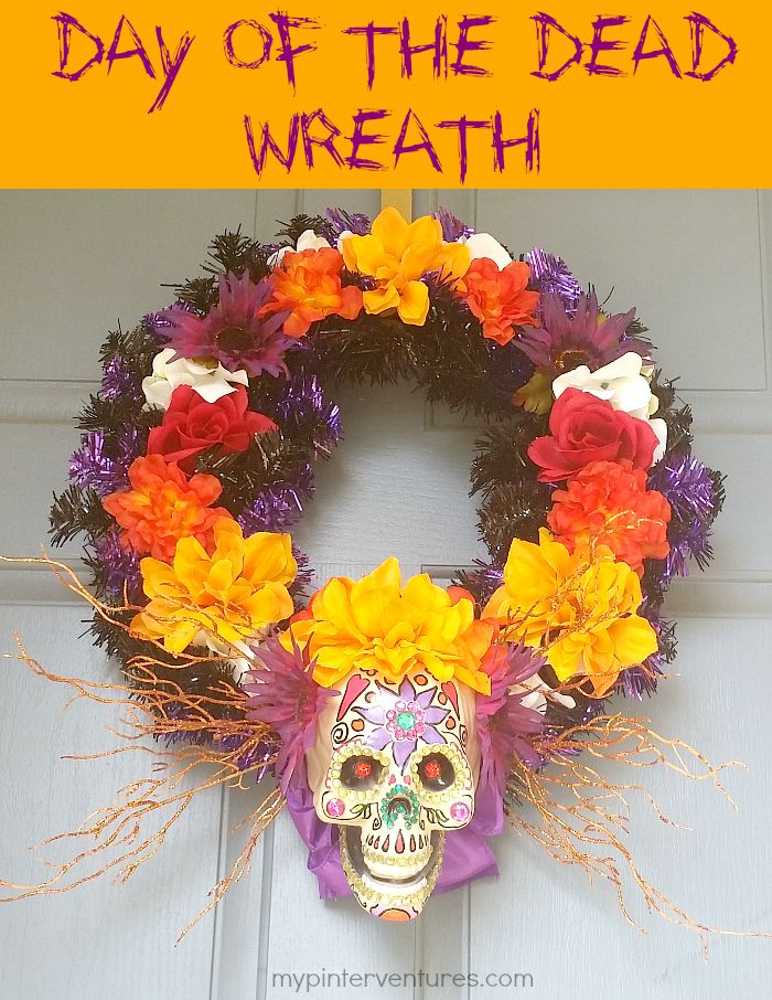 Day of the Dead Wreath Tutorial