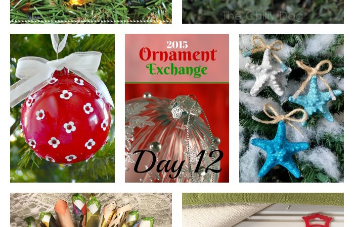 2015 Ornament Exchange – Day 12