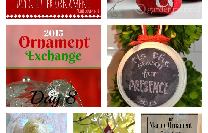 2015 Ornament Exchange – Day 8